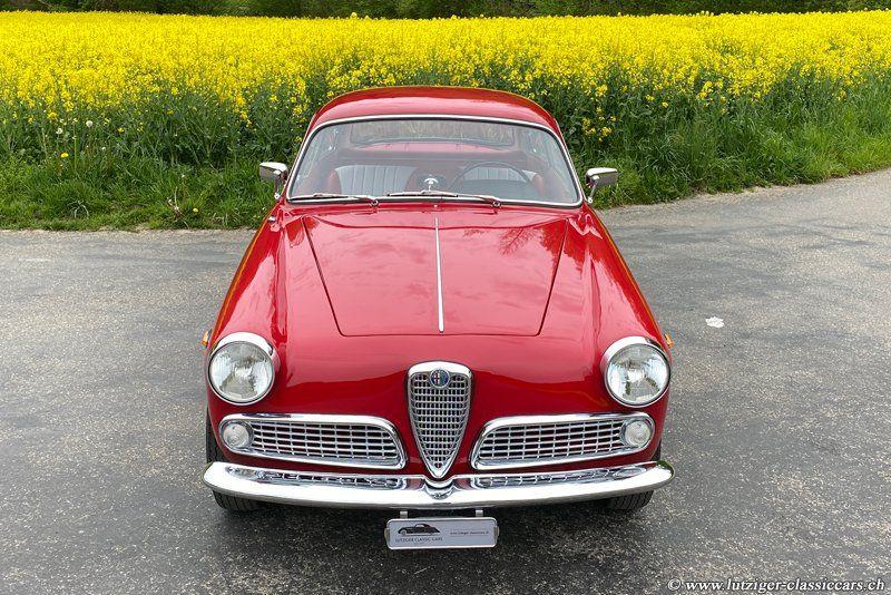 Alfa Romeo Giulietta Sprint 1600 16.01.1963 Rot 3'271 km