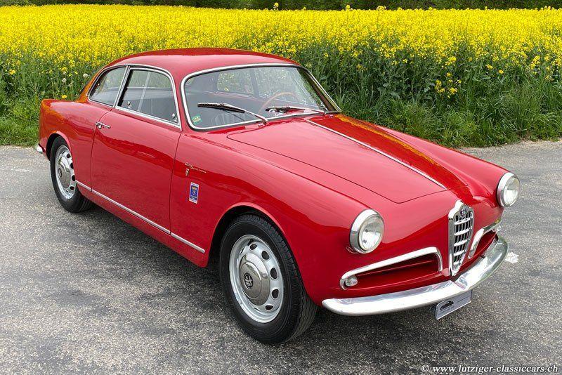 Alfa Romeo Giulietta Sprint Veloce Alleggerita V750E 1956 (20)