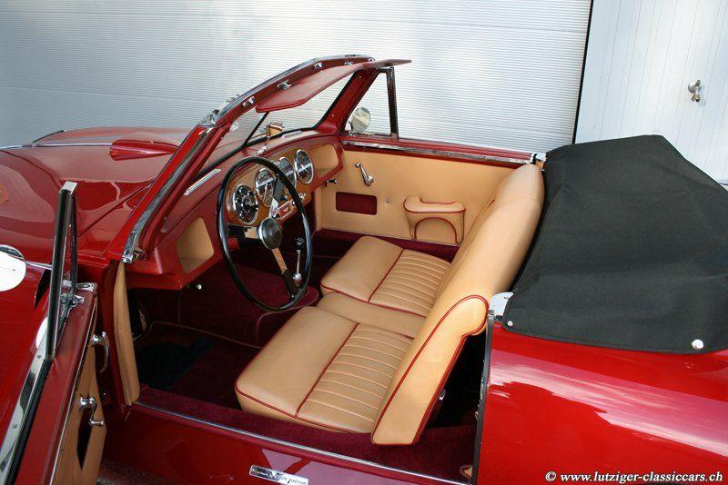 Aston Martin DB2 Vantage DHC Rot 1954 (58)