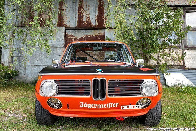 BMW 2002 ti 02.06.1969 Orange Jägermeister 84'465km