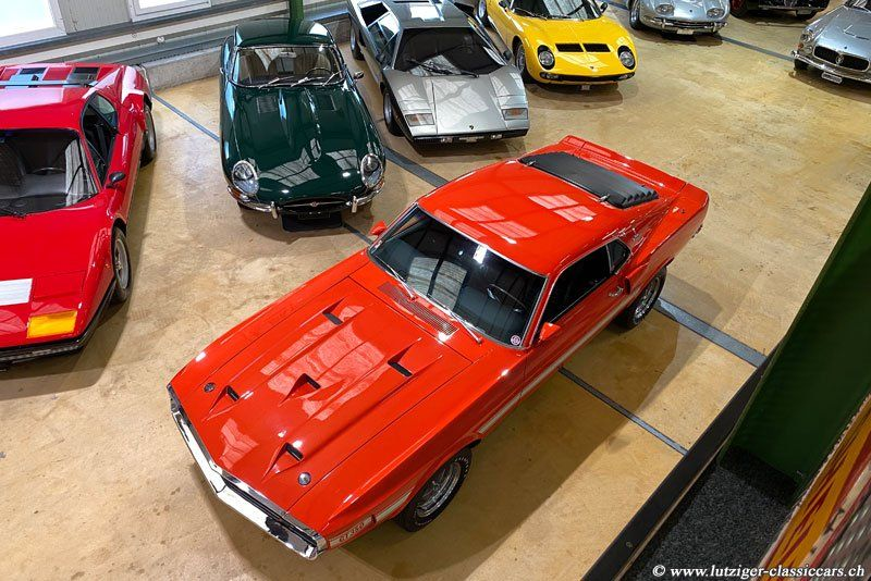 Ford Mustang Shelby GT 350 1970 Orange (40)