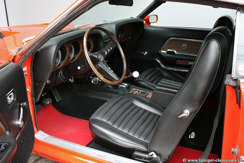 Ford Mustang Shelby GT 350 1970 Orange (48)