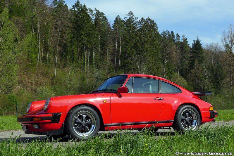 Porsche 911 Carrera 3.2 1987 Rot (02)