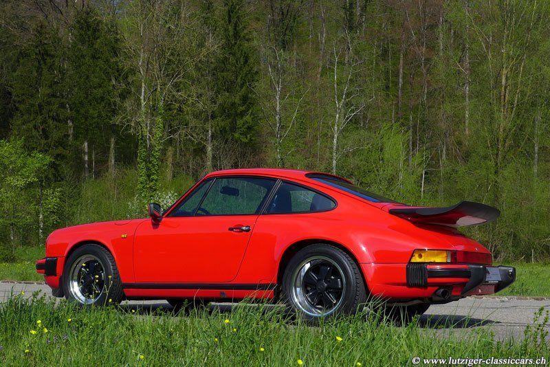 Porsche 911 Carrera 3.2 1987 Rot (03)