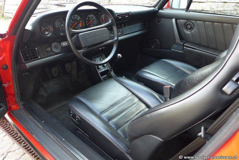 Porsche 911 Carrera 3.2 1987 Rot (40)