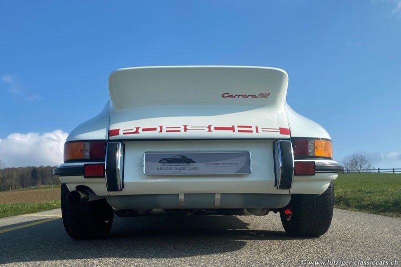 Porsche 911 Carrera RS 2.7 14.05.1973 Weiss-Rot 20'316km