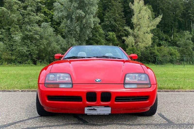 BMW Z1 19.03.1990 Rot 90'823km