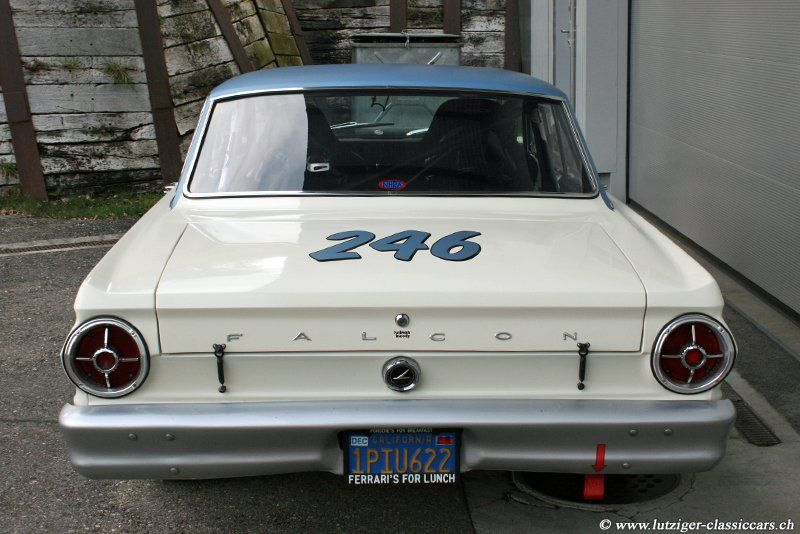 Ford Falcon Sprint 289 Shelby 1965 Weiss