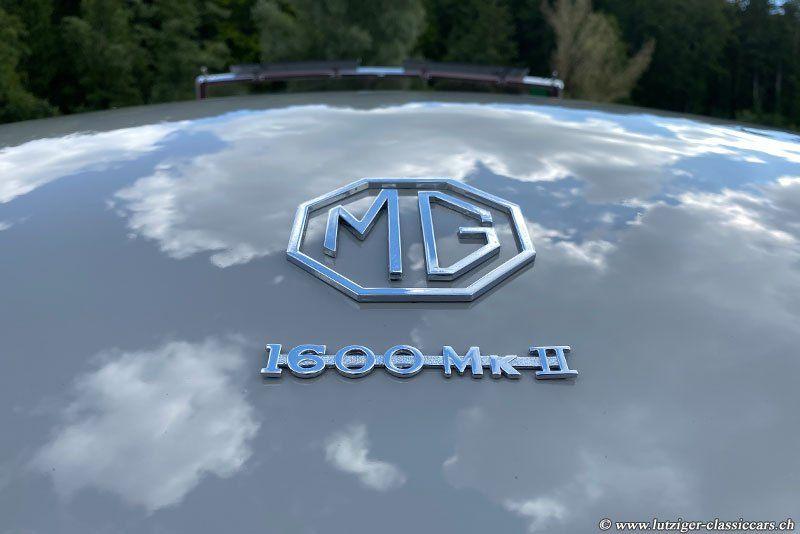 MG A 1600 MkII 01.01.1962 Grau 96'920km Hess