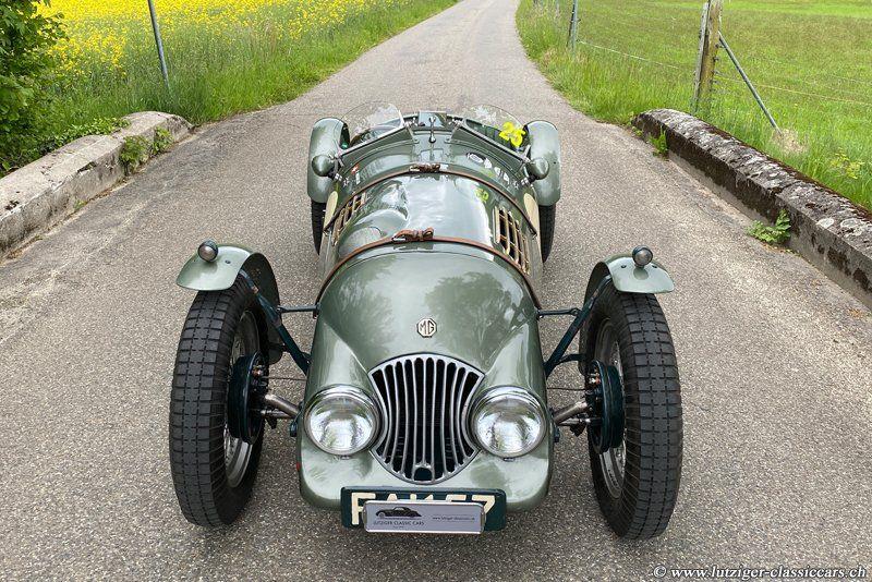 MG TC Le Mans Special 4.11.1947 Grün Niggeler