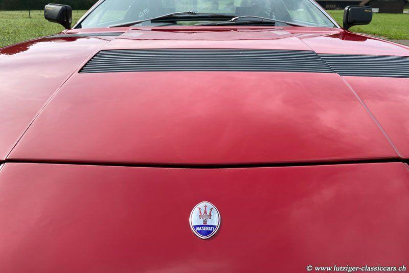 Maserati Khamsin 17.06.1976 Rot 107'055km